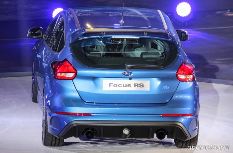 arriere nouvelle Ford Focus RS