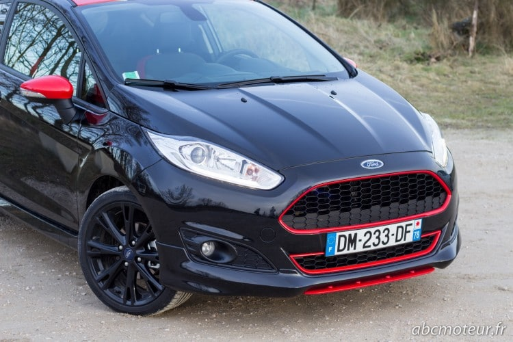 calandre Ford Fiesta Black Edition