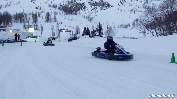 dynamique kartings circuit glace