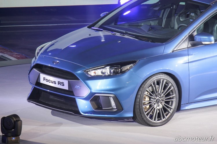 face avant Ford Focus RS 3