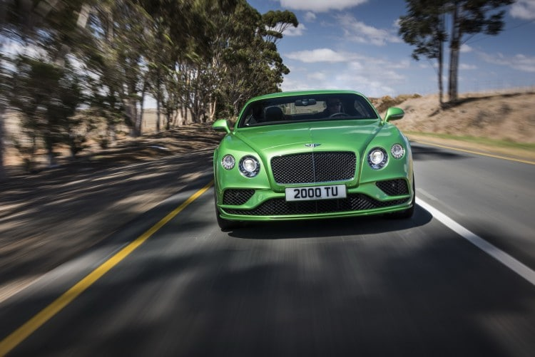 roulage Bentley-Continental-GT-Speed