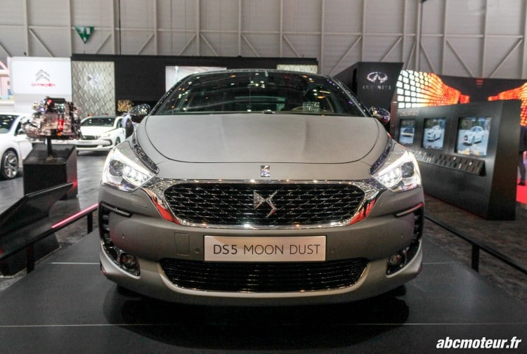 DS 5 Moon Dust Geneve 2015
