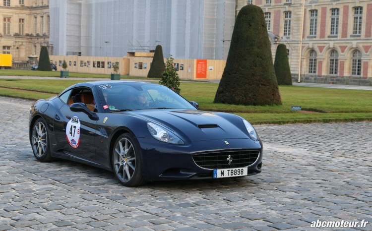 Ferrari California Rallye de Paris 2015