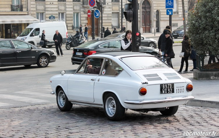 Fiat Abarth 1300 Rallye de Paris 2015-2