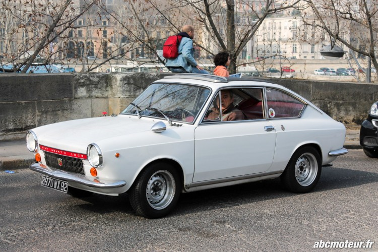 Fiat Abarth 1300 Rallye de Paris 2015