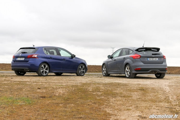 Ford Focus ST VS Peugeot 308 GT-3