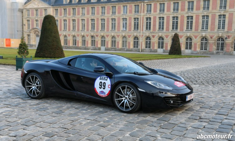 McLaren MP4-12C Rallye de Paris 2015-2