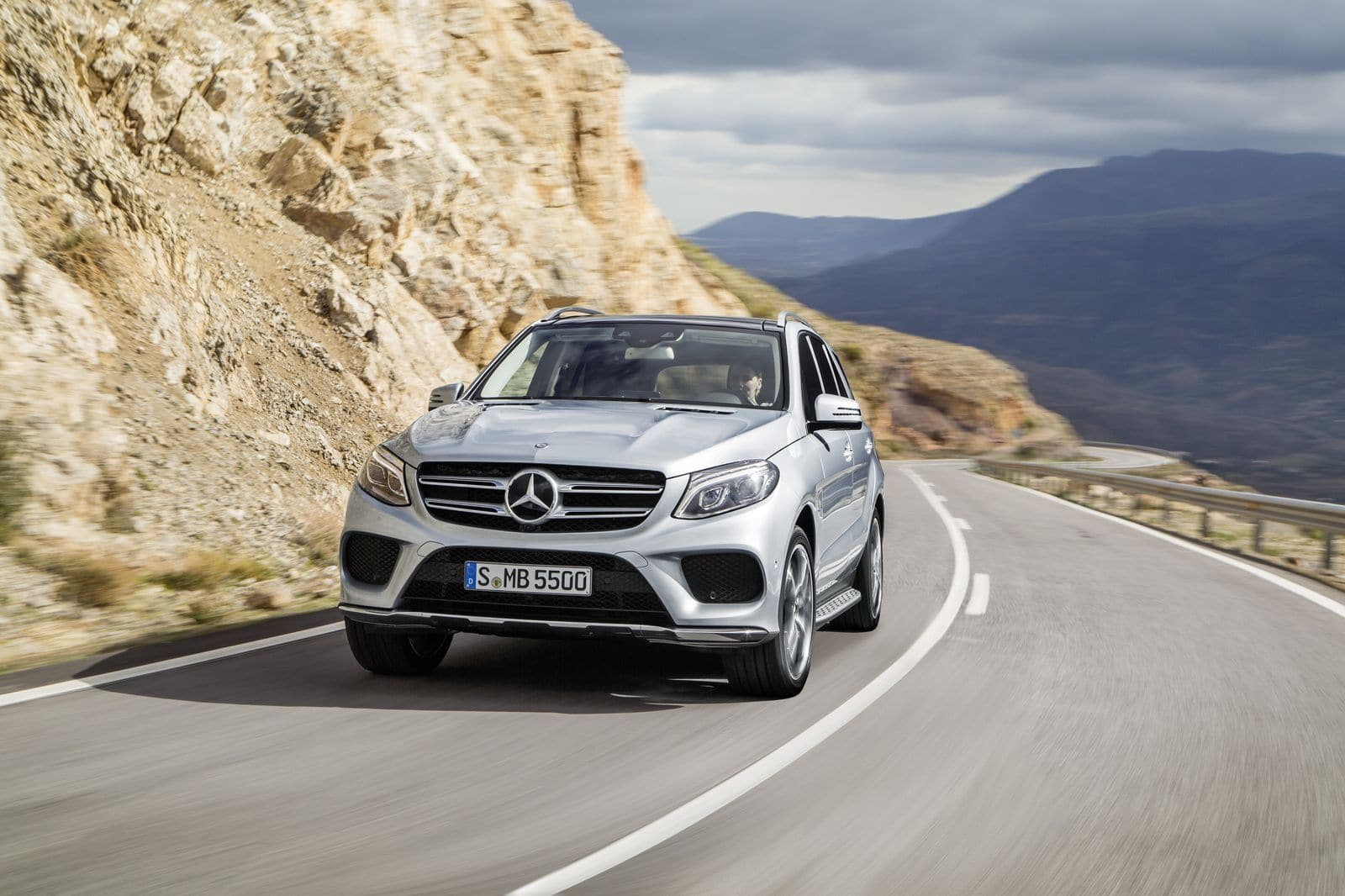 Place au Mercedes GLE !