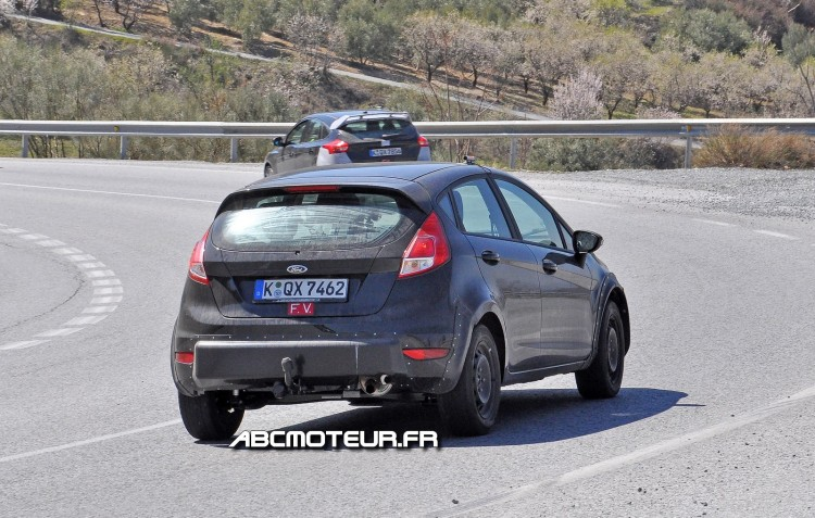 arriere Ford Fiesta RS