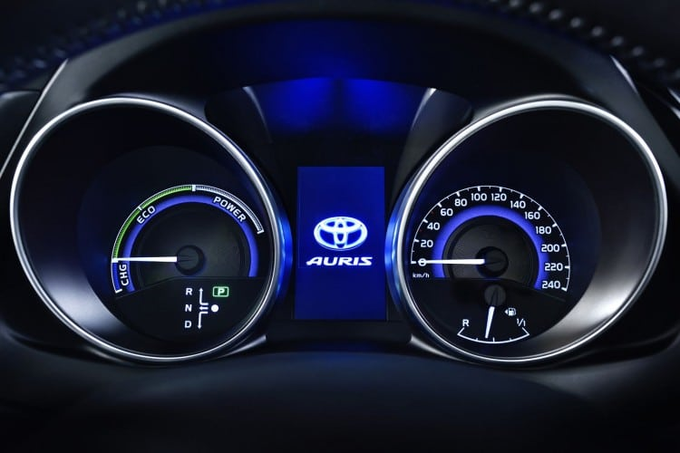 compteurs Toyota-Auris-2015