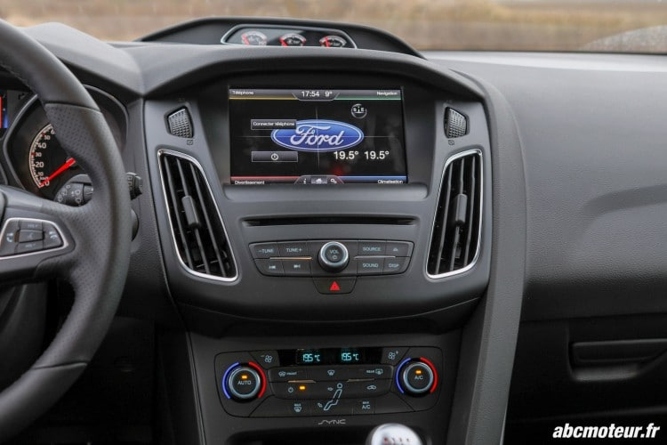 console centrale Ford Focus ST