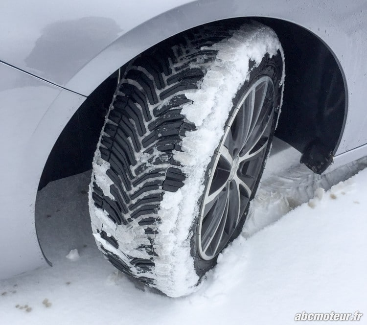 neige pneu Michelin CrossClimate
