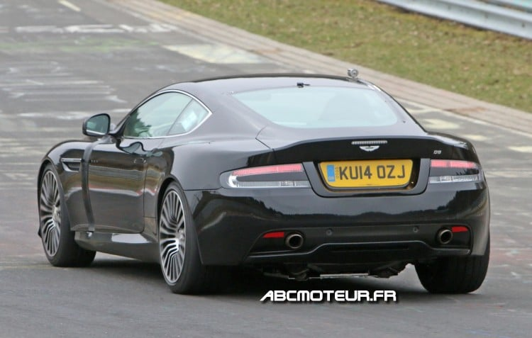 photo espion prochaine Aston Martin DB9