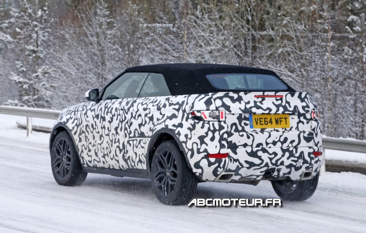 photo volee Range-Rover-Evoque-Cabriolet