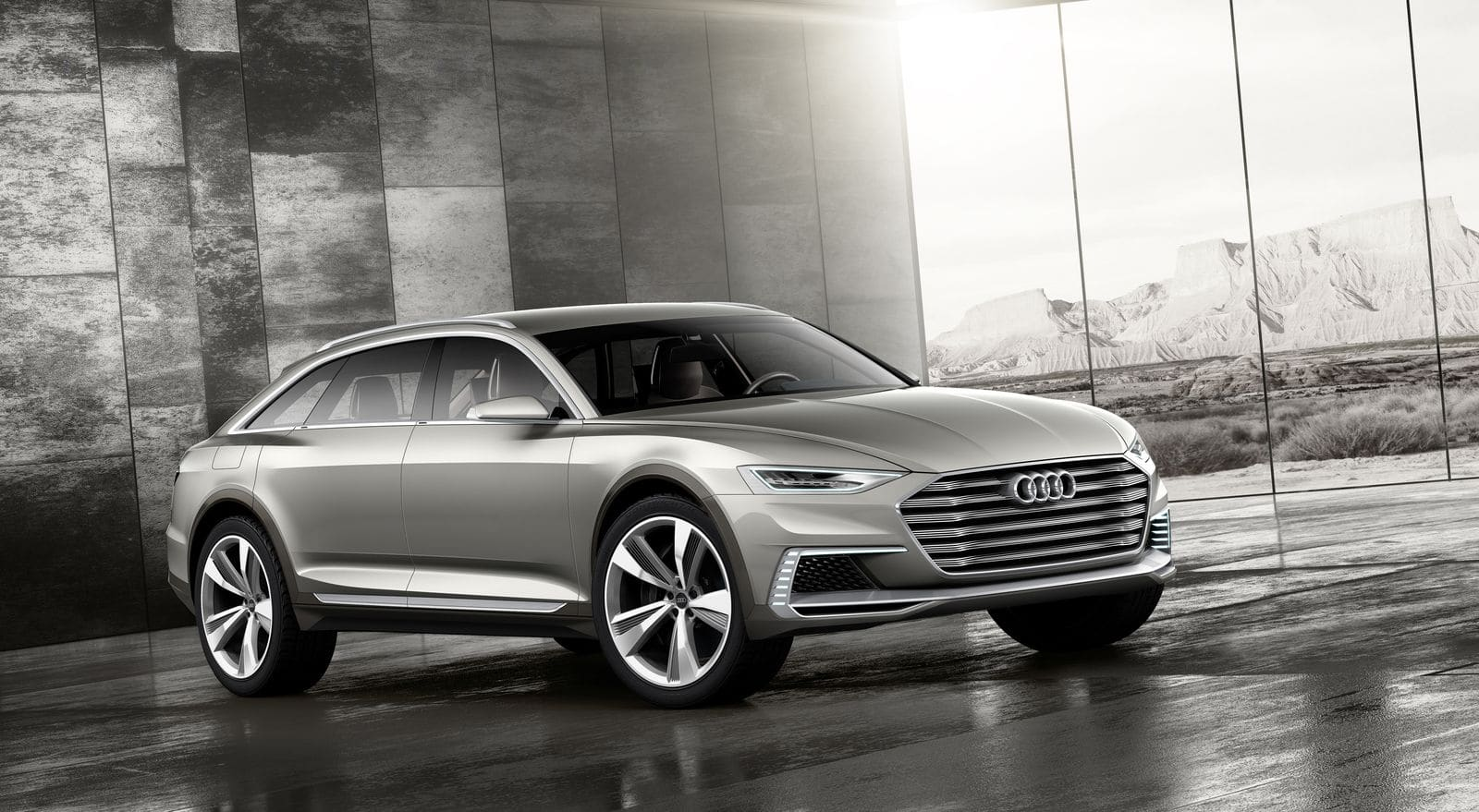 Audi Prologue : et maintenant l'Allroad