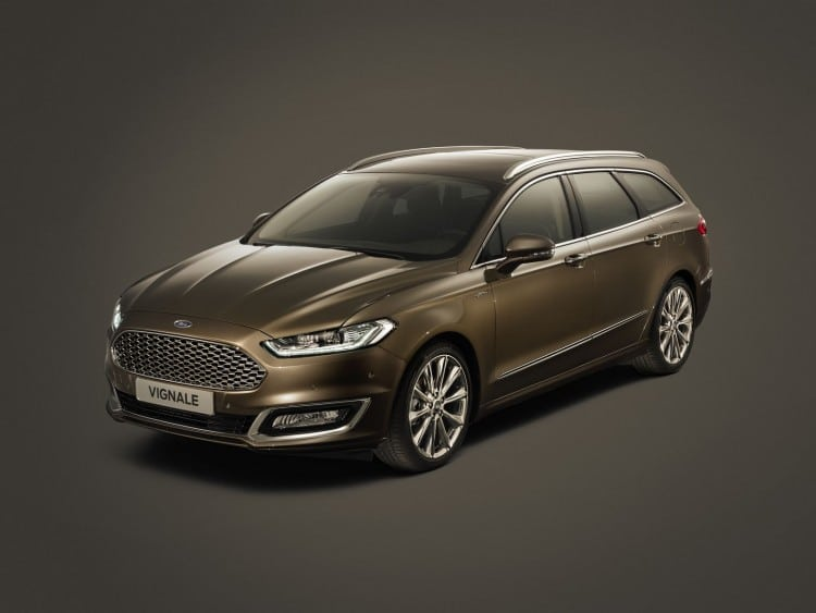 New Production Ready Ford Vignale Mondeo Launches Upscale Produc