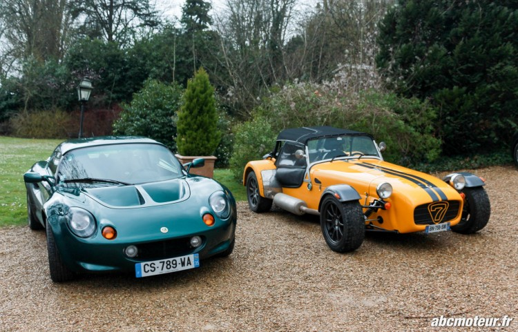 Lotus Elise S1 Caterham sortie 77 Club Lotus France IDF mars 2015