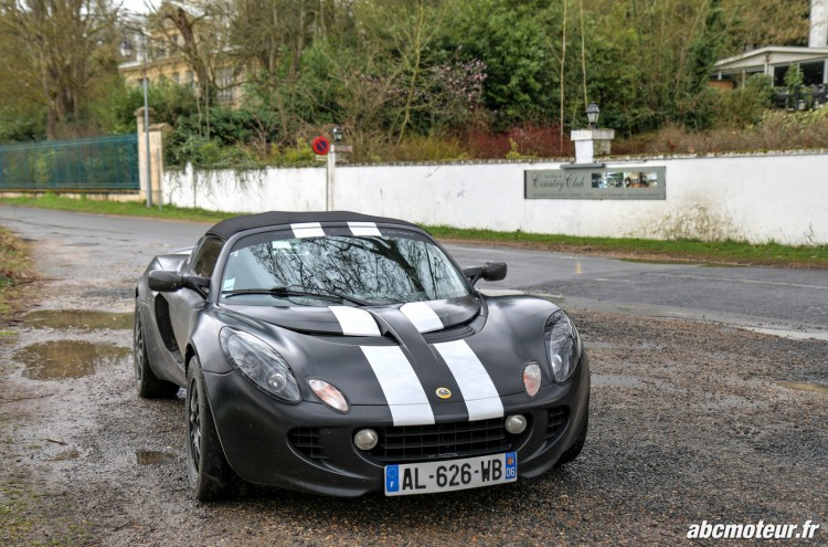 Lotus Elise S2 111R sortie 77 Club Lotus France IDF mars 2015-2