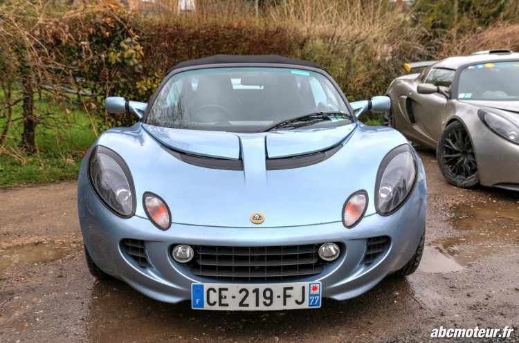 Lotus Elise S2 sortie 77 Club Lotus France IDF mars 2015