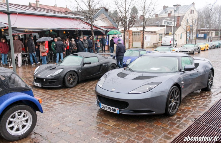 Lotus Evora sortie 77 Club Lotus France IDF mars 2015
