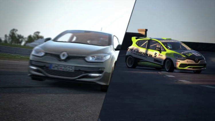 Renault Megane RS Clio Cup Project CARS