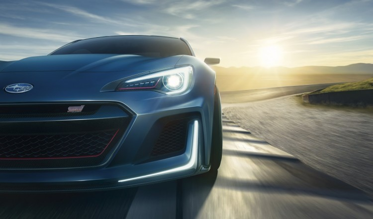 action Subaru-BRZ-STi Performance concept