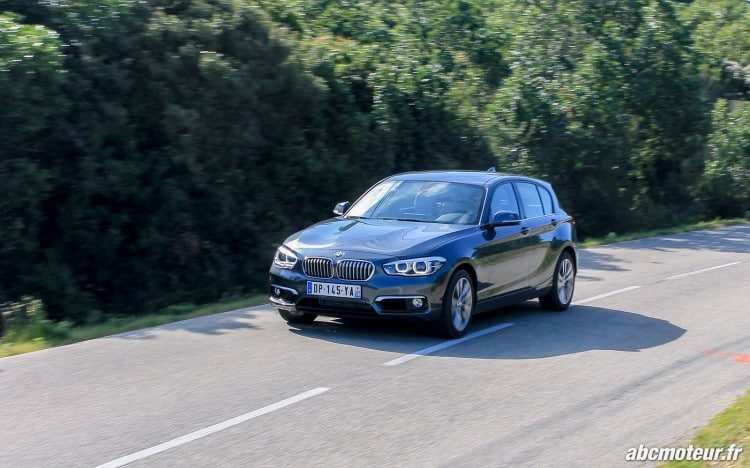 dynamique BMW Serie 1 F20 restylee 120d-2