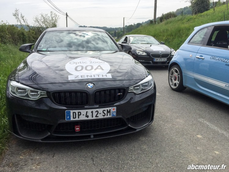face avant BMW M4 Coupe full black Tour Auto 2015