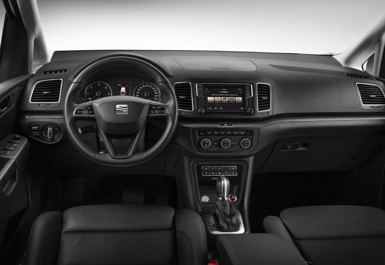 interieur Seat Alhambra 2015