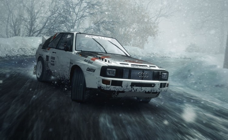 Audi Quattro S1 DiRt Rally