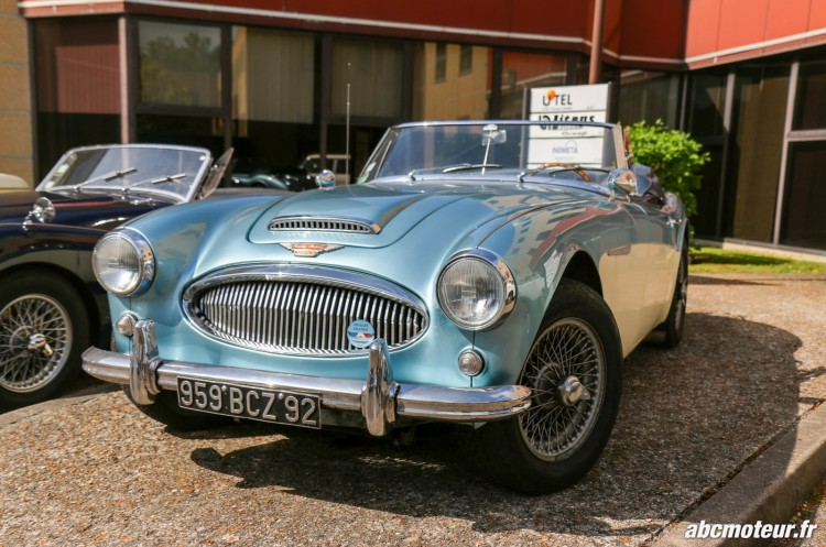 Austin Healey rassemblement Bailly