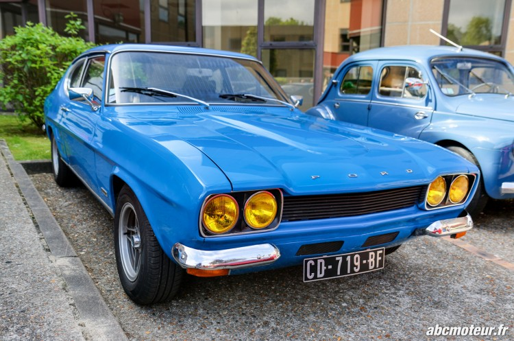 Ford Capri rassemblement Bailly