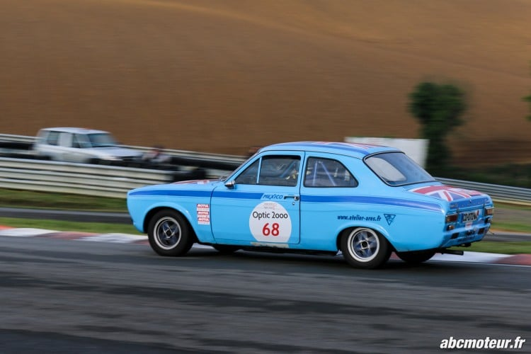Ford Escort Mexico circuit Pau Arnos Tour Auto 2015