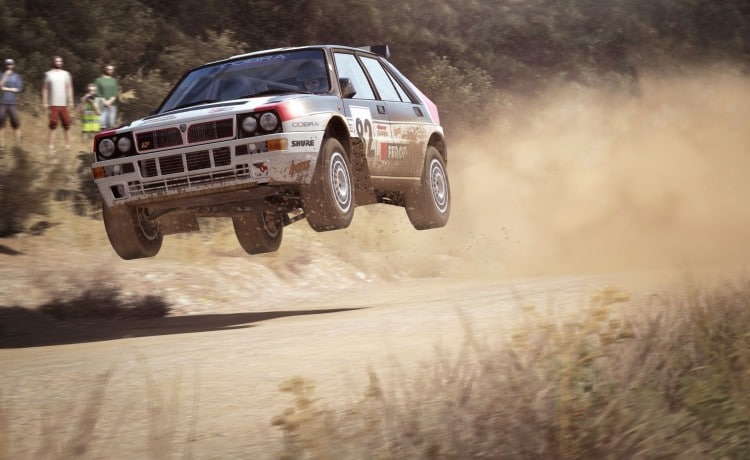 Lancia Delta HF Integrale DiRt Rally