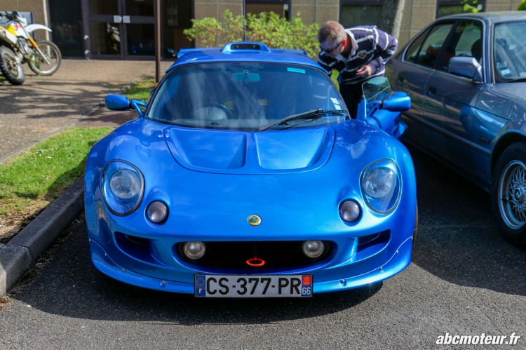 Lotus Exige S1 rassemblement Bailly