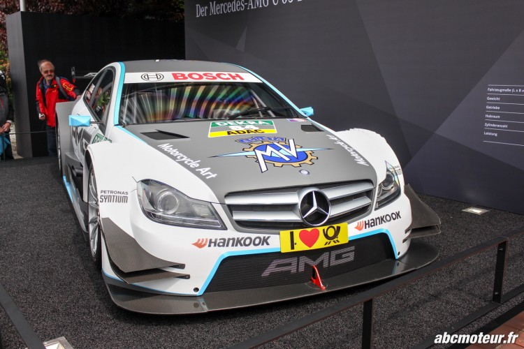 Mercedes AMG C Coupe DTM