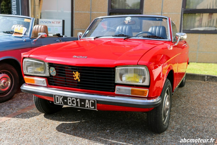 Peugeot 304 Cabriolet rassemblement Bailly