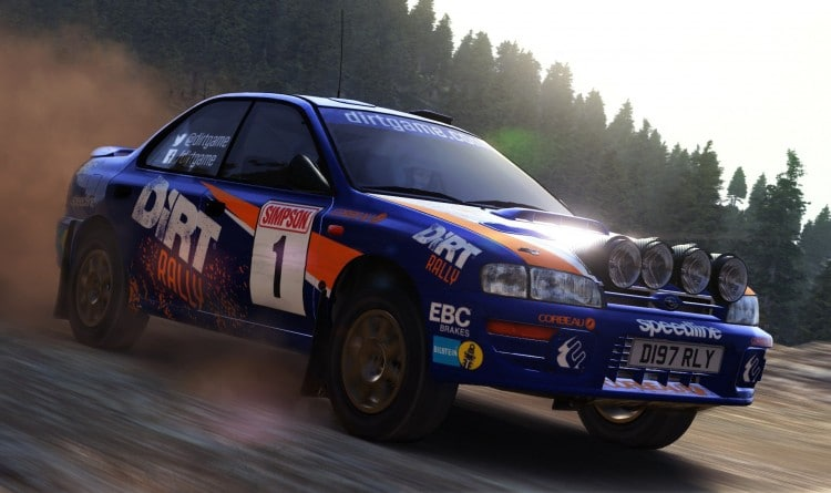 Subaru Impreza DiRt Rally