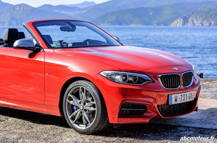 aile avant BMW M235i Cabriolet