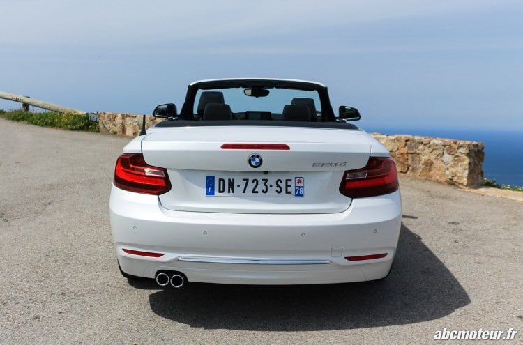 arriere BMW Serie 2 Cabriolet 220d