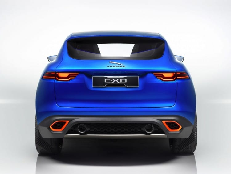 En guise d'illustration, le concept Jaguar C-X17