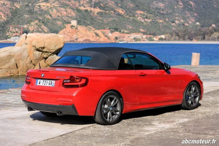 capote toile BMW M235i Cabriolet
