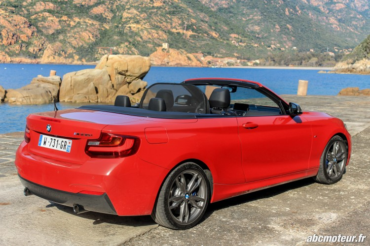 filet anti remous BMW M235i Cabriolet