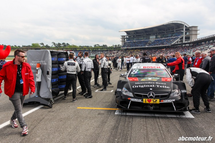 preparation Mercedes AMG C Coupe DTM