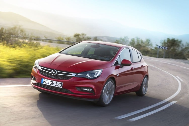 Nouvelle Opel Astra 2016 - 5