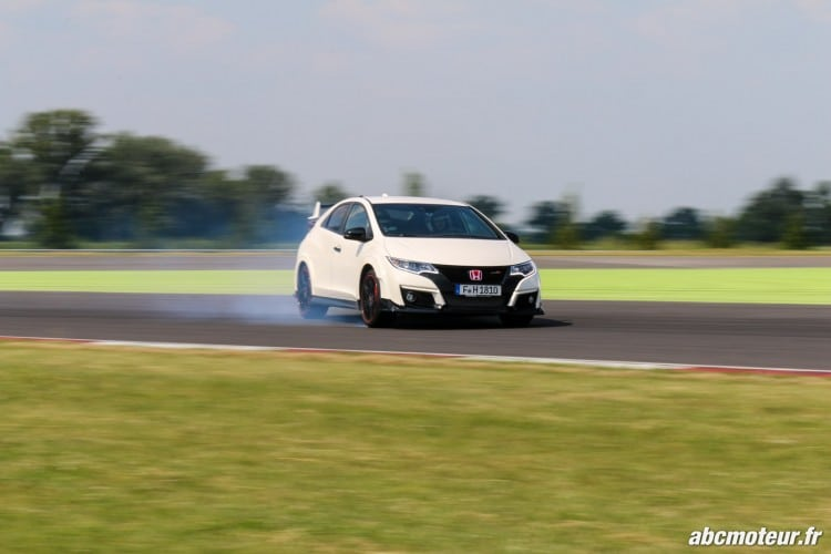 drift Honda Civic Type R FK2