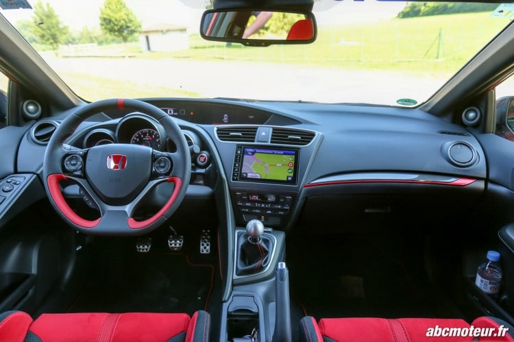 interieur Honda Civic Type R FK2