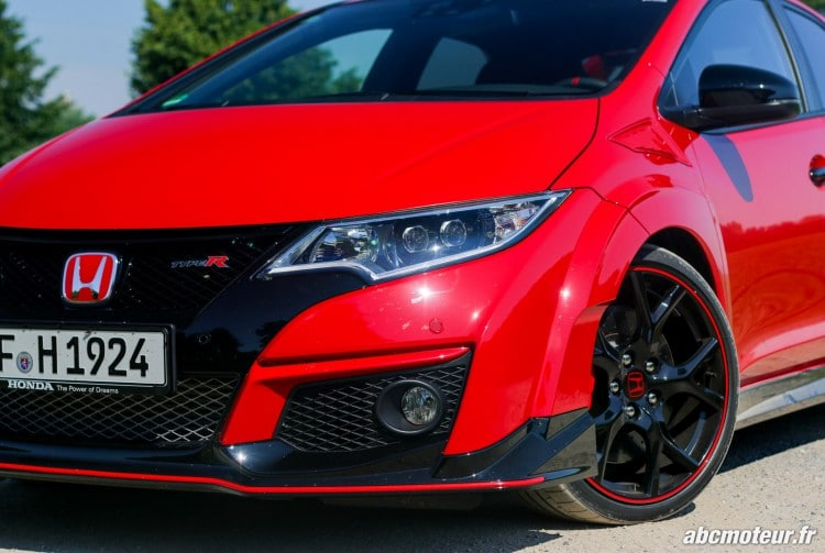 optique avant Honda Civic Type R FK2