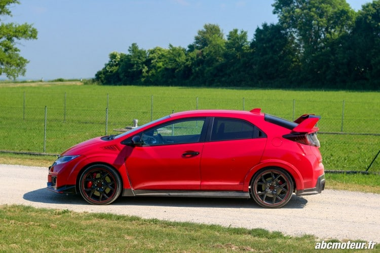 profil Honda Civic Type R FK2