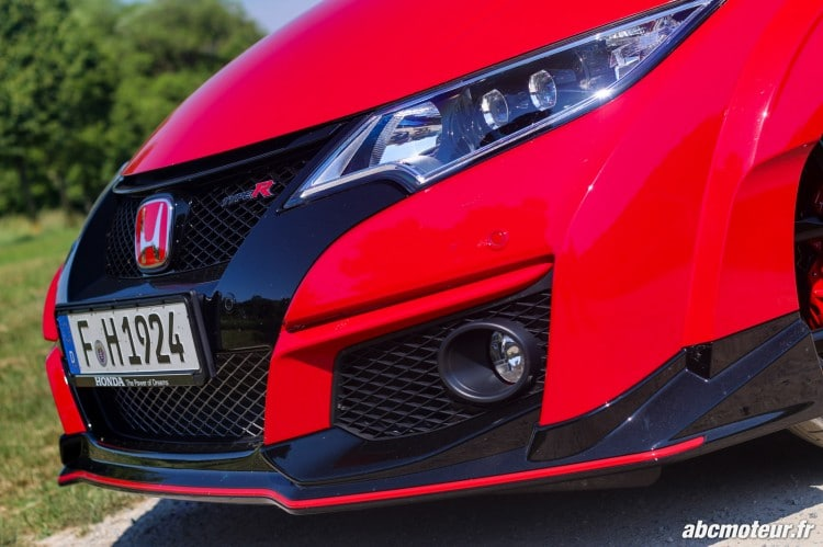 proue Honda Civic Type R FK2